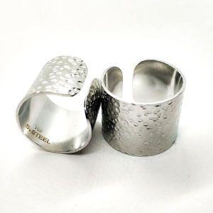 """Κολιέ """"silver heart"""" από ανοξείδωτο ατσάλι"""
