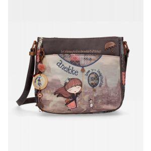 Τσάντα ώμου μεσαία χιαστί Anekke