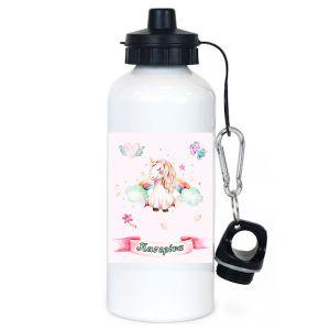 Μπουκάλι νερού λευκό 600ml με θέμα Νεράιδα