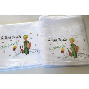 Πετσέτα και σεντόνι πρίγκιπας και κάστρο