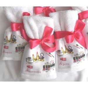 Πετσέτα με εκτύπωση gorgeous κι όνομα παιδιού