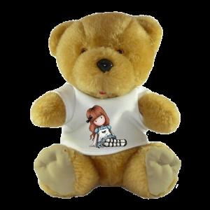Αρκουδάκι λούτρινο με προσωπική αφιέρωση