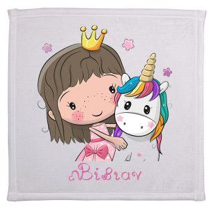Πετσέτα με εκτύπωση μικρός πρίγκιπας