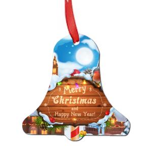 Χριστουγεννιατικη ξυλινη χιονονιφαδα στολιδι για το δεντρο με τη φωτογραφια και το δικο σας μηνυμα